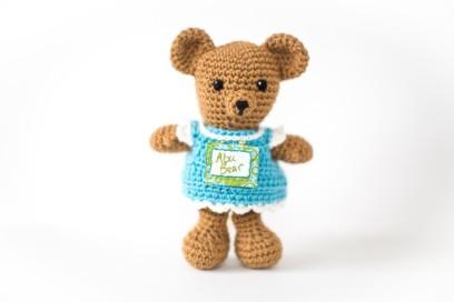crochet bear choosy stuff