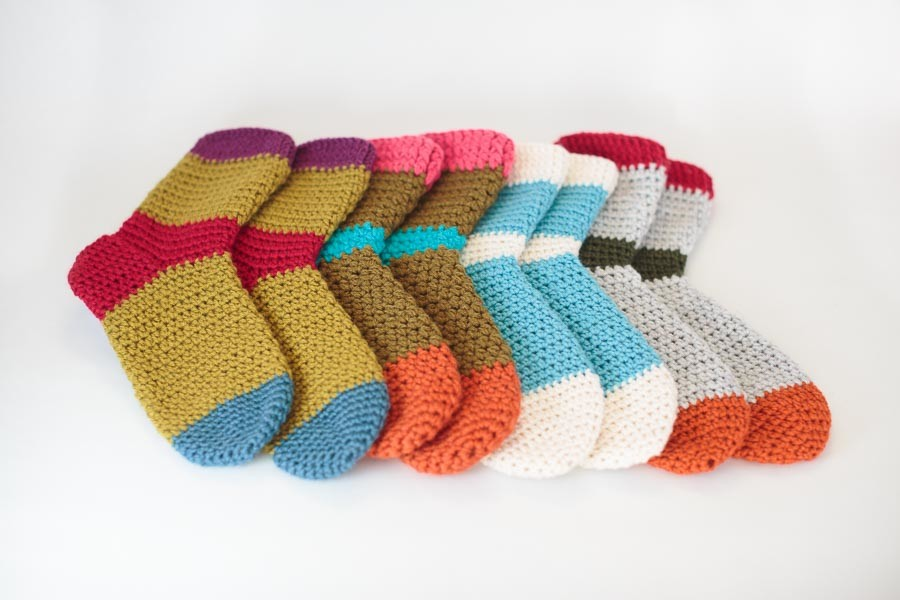 crochet socks choosy stuff